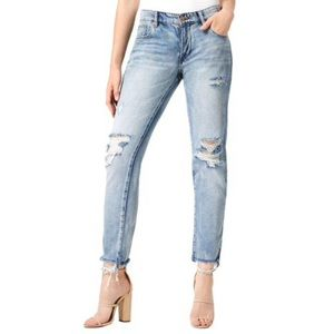 NWT William Rast My Ex's Destroyed Ankle Jeans